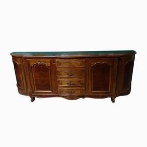 Vintage Walnut Buffet Bar