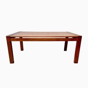 Mesa de centro danesa vintage de teca