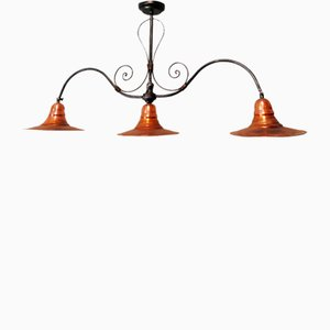 Vintage Copper Ceiling Lamp