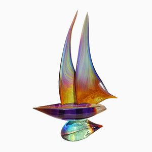 Sculpture Sailing Dino Rosin, Early 21st Century