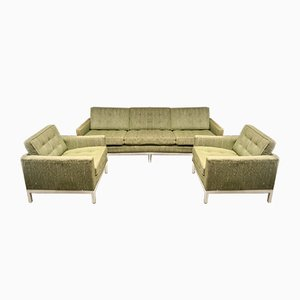 Living Room Set by Florence Knoll Bassett for Knoll Inc. / Knoll International, 1954, Set of 3