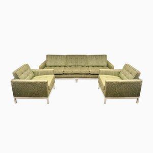 Living Room Set by Florence Knoll Bassett for Knoll Inc. / Knoll International, 1954, Set of 3
