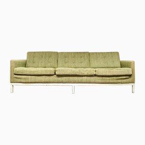 Canapé avec Tissu Original par Eszter Haraszty / Florence Knoll Bassett pour Knoll Inc. / Knoll International, 1954