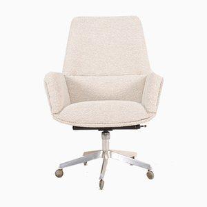 Chaise de Bureau avec Tissu New Boucle par Finn Juhl pour France & Søn / France & Daverkosen, 1960s