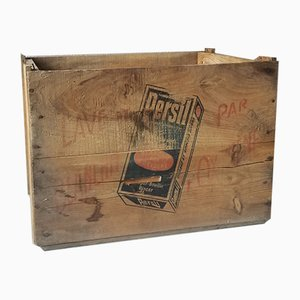 Wooden Crate from Persil, 1950s