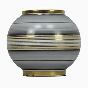 Art Deco Decorated Porcelain Vase, 1930s