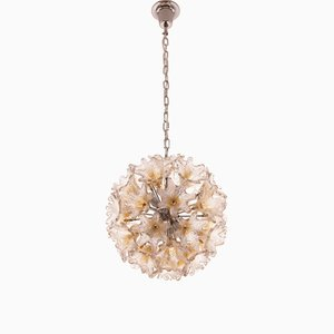Murano Glass Ceiling Lamp by Toni Zuccheri for VeArt, 1960s