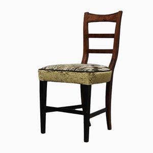 Biedermeier Austrian Walnut Chair, 1820s