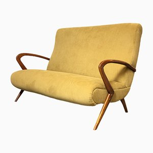 Italian 2-Seater Sofa by Paolo Buffa, 1950s