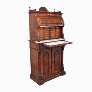 Burr Walnut Dentist's Cabinet, 1800s