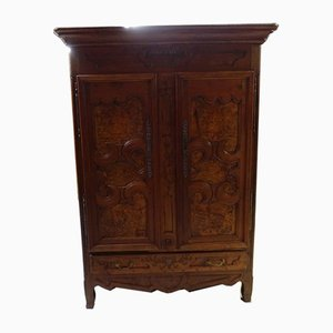 Antique Walnut Bressane Wardrobe