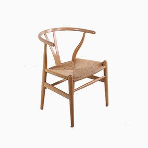 Oak CH24 Wishbone Dining Chair by Hans J. Wegner for Carl Hansen & Søn, 1960s