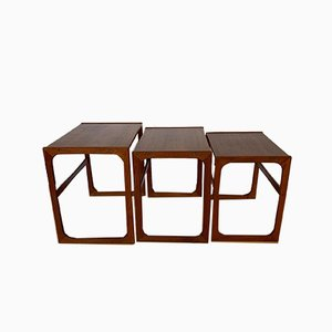 Danish Side Tables from BR Gelsted, 1960s, Set of 3