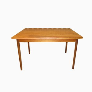 Teak Pull-Out Dining Table, 1960s