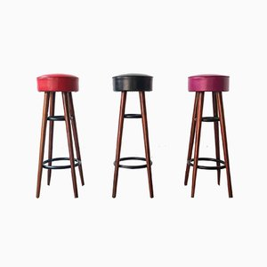 Bar Stools from Olaio, 1950s, Set of 3