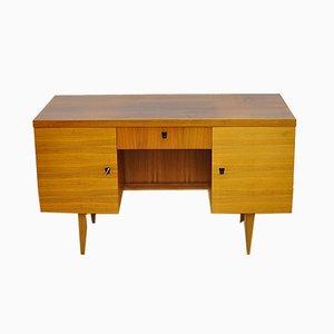 Deutscher Doppelseitiger Schreibtisch, 1970er