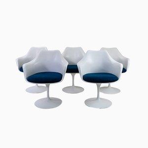 Fauteuils par Eero Saarinen pour Knoll Inc. / Knoll International, 1970s, Set de 5