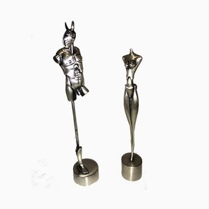 Sculptural Group, Royal Couple by Paul Wunderlich