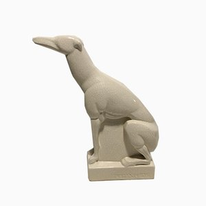 Ceramic Greyhound by Charles Lemanceau
