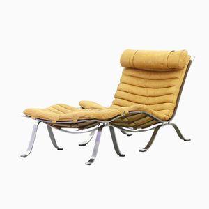 Modell Ari Lounge Stuhl mit Fußhocker von Arne Norell Mobler