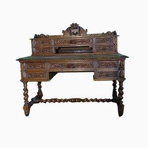 Henry II Schreibtisch aus Eiche