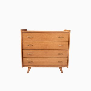 Chest of Drawers on Compass Feet, 1950s