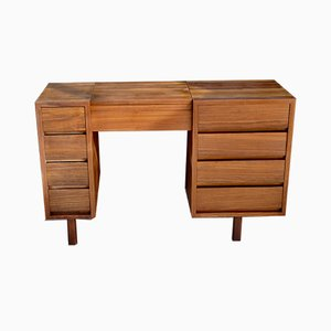 Desk with 8 Drawers, 1960s