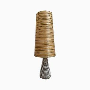 Keramik Tischlampe von ACCOLAY, 1960er