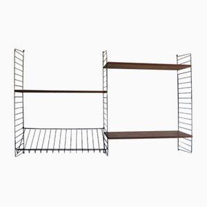 Swedish Wall Shelving by Strinning, Kajsa & Nils ''Nisse'' for String, 1960s