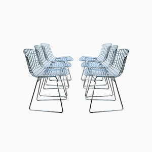 Mid-Century Dining Chairs by Harry Bertoia for Knoll Inc. / Knoll International, 1960s, Set of 6