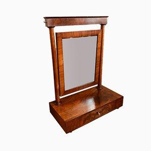 Grand Miroir de Barbier avec Époque Empire Mercury