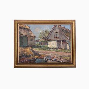 Ludivig Holm, Pintura al óleo, 1943