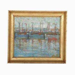 Leo Thellefsen, Pittura ad olio