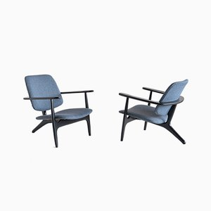 Belgian S3 Armchairs by Alfred Hendrickx for Belform, 1958, Set of 2