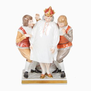 Antique Hans Christian Andersen Inspired Porcelain Figurine by Chr. Thomsen for Royal Copenhagen, 1910s