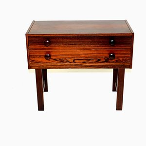 Swedish Rosewood Chest of Drawers, 1960s