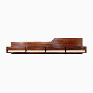 Italian Wooden Wall Console, 1950s