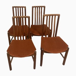 Danish Dining Chairs by Benny Linden, 1970s, Set of 6