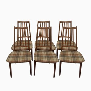 Dining Chairs by A. M. Danish for AWA Meubelfabriek, 1960s, Set of 6