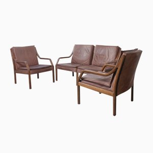 Art Collection Living Room Set by Rudolf Glatzel for Walter Knoll / Wilhelm Knoll, 1970s, Set of 3