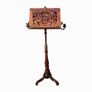 Victorian Rosewood Music Stand