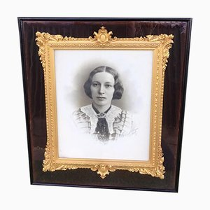 Victorian Period Carved Gilt Wood Picture Frame