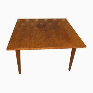 Square Teak Side Table, 1960s