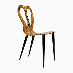 Musicale Chair by Piero Fornasetti, 1950s