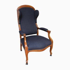 Biedermeier Wing Back Lounge Chair