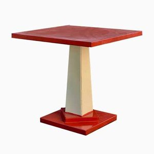 Iron & Sheet Metal Side Table, 1960s