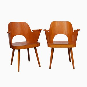 Lounge Chairs by Lubomir Hofman for TON, 1960s, Set of 2