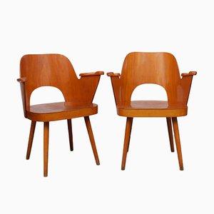 Sessel von Lubomir Hofman für TON, 1960er, 2er Set