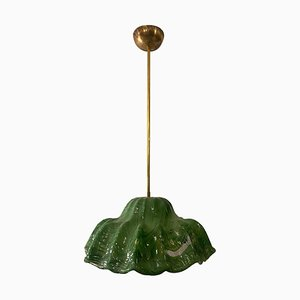 Murano Water Lilies Chandelier by Toni Sugars for Venini, Italy, 1968