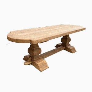 Solid Oak Monastery Table